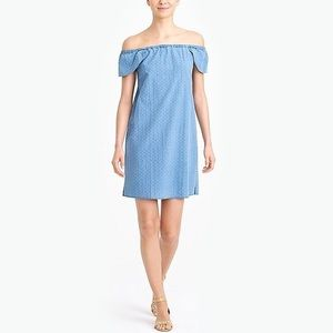 JCrew Jean colored dress - off the shoulder